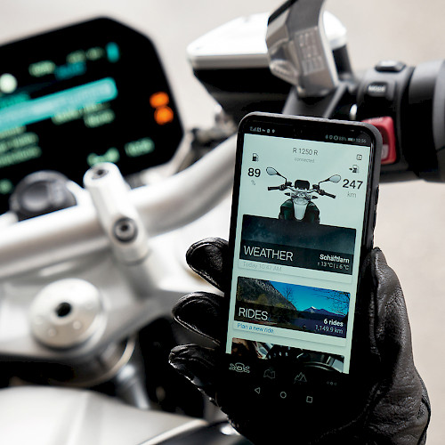 App Development for BMW Motorrad