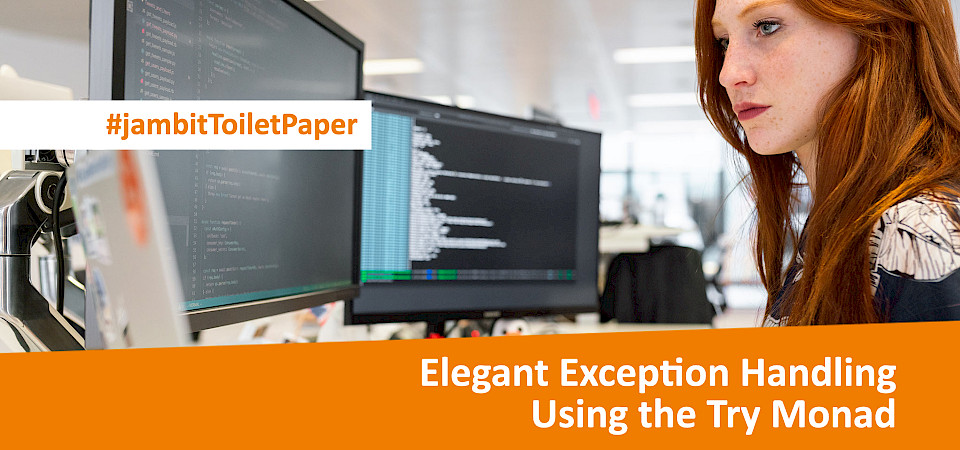 Elegant Exception Handling Using the Try Monad