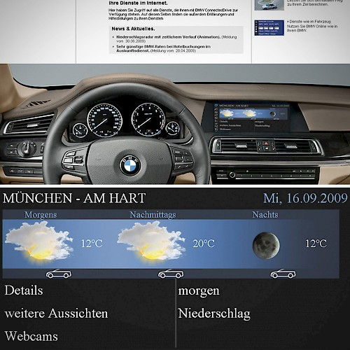 BMW Connected Drive Platform Services