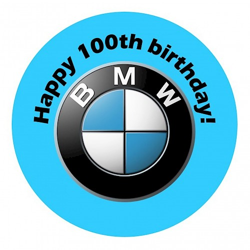 Happy 100th birthday, BMW!