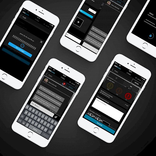 Daimler AG - UX concept, UI design and app development for VANQuality
