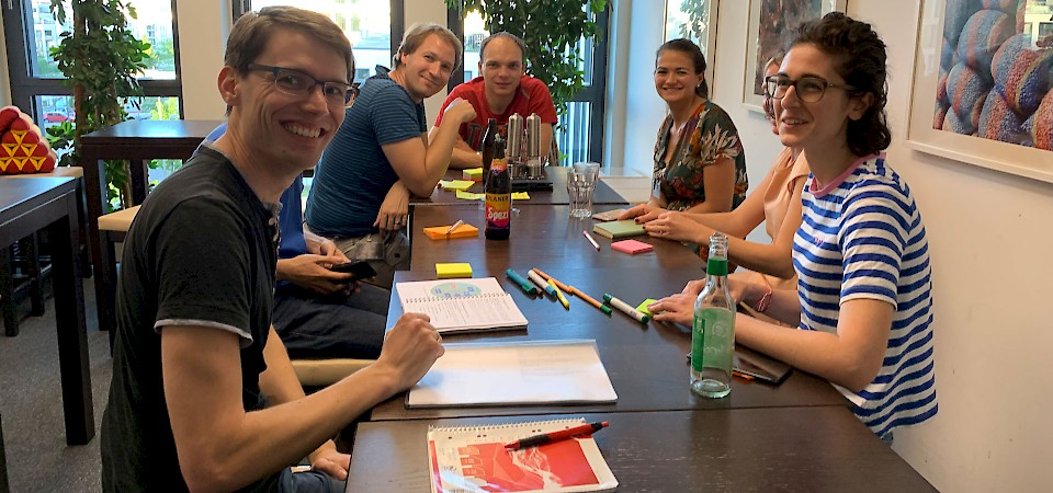 Workshop bei jambit zu Sociocracy 3.0