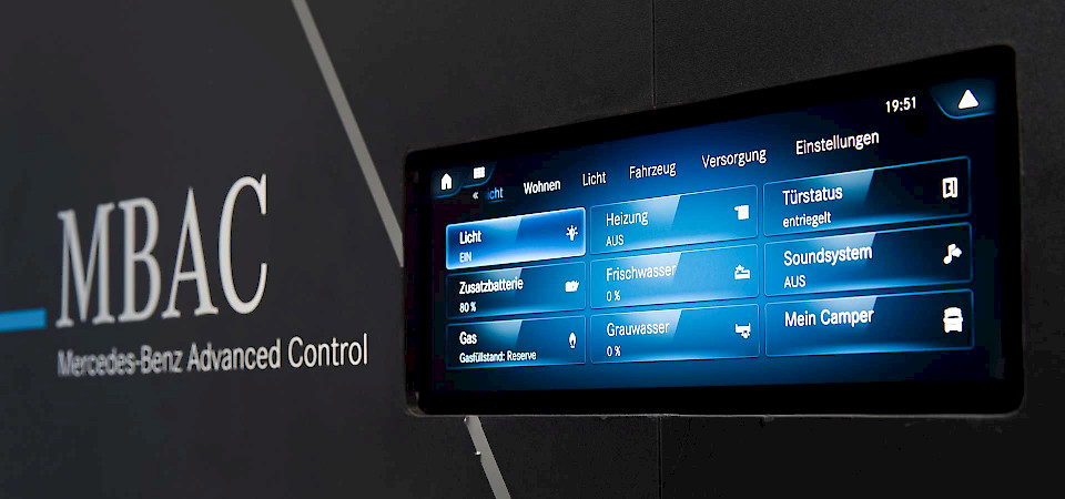 Mercedes-Benz Advanced Control auf dem Caravan Salon Düsseldorf 2019